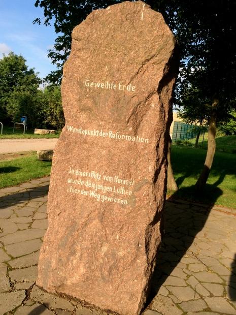 Diesen Gedenkstein